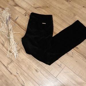 Michael Kors black velvet pants. Size 10